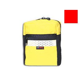 LA Rescue Pouch, Cordura Nylon, Medium, 6inch L x 3inch W x 7inch H , Red