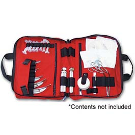 LA Rescue Intubation Kit, Red (Bag Only)