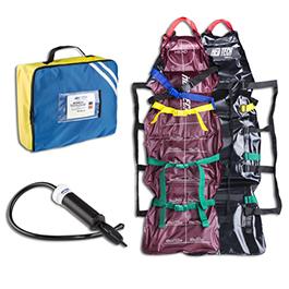 Pediatric Vacuum Spine board (VSI), incl Pump and Carrying Case