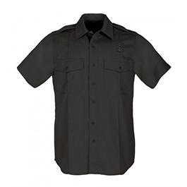 5.11, Shirt, PDU Twill Class A, Short Sleeve, Men, Black