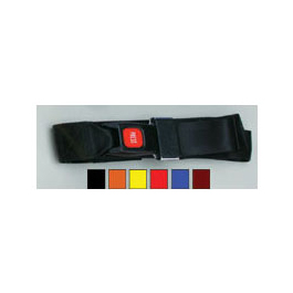 Metal Push Button Buckle One Piece Straps, 9 Feet