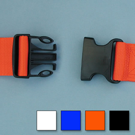 Polypropylene Side Release Two Piece w/Loop Ends Straps