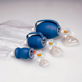 L670 Bag Valve Masks (BVM), with 7 ft Tubing
