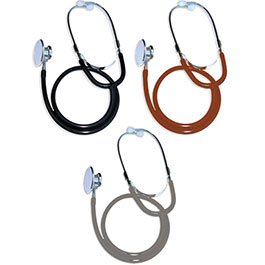 Stethoscopes, Dual Head, Boxed