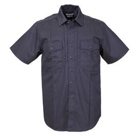 5.11 Men's B-Class Station Shirts, Short Sleeve, Fire Navy