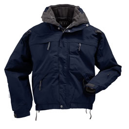 5.11 Men's 5-in-1 Jackets, Dark Navy