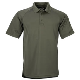 5.11 Men's Performance Polo Shirts, Short Sleeve, TDU Green