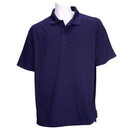 5.11 Men's Performance Polo Shirts, Short Sleeve, Dark Navy