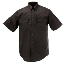 5.11 Men's Taclite Pro Shirts, Short Sleeve, Black