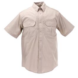 5.11 Men's Taclite Pro Shirts, Short Sleeve, TDU Khaki