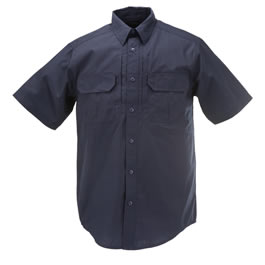 5.11 Men's Taclite Pro Shirts, Short Sleeve, Dark Navy