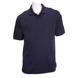 5.11 Men's Tactical Polo Shirts, Short Sleeve, Dark Navy
