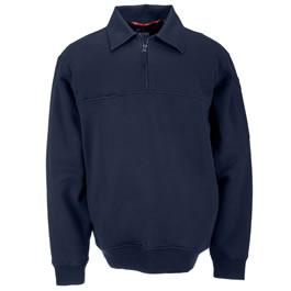 5.11 Men's Job Shirts w/Canvas Details, Fire Navy