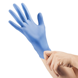 Curaplex TritonGrip SE Blue Nitrile Gloves