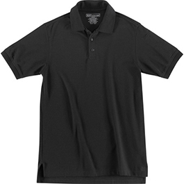 5.11 Utility Polo Shirt, Short Sleeve, Black, Unisex