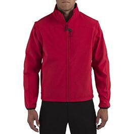 5.11, Jacket, Valiant Softshell, Range Red, Sizes SM to 4XL