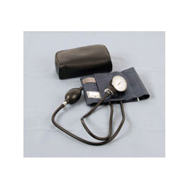 Blood Pressure Unit, Adult, Navy Blue, Leatherette Case
