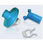 PFT Filter Kit, AllFlow™, 4000 Filter, Medium Blue, Noseclip, Mouthpiece