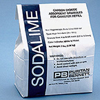 Absorbent, CO2, Sodalime, 3lb Bag