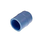 Adapter, Tube, 35 mm (1 3/8in), 1in ID to 1 3/8in OD, Blue