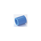 Adapter, Tube, 22 mm (7/8in), 22 mm ID to 22 mm ID, Blue