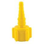 Nut, Nipple, Air, Swivel, Yellow