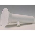 Mouthpiece, Flow Sensor, Disposable, Puritan Bennett, Renaissance, Plasic, White, 50/CA
