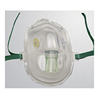 Mask, Oxygen, AirLife, Disposable, High Concentration, Adult, Mask Only