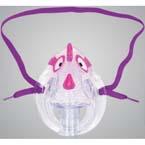 Aerosol Mask Kit, AirLife, Pediatric, Dragon Mask, Coloring Book, Crayons, Vinyl
