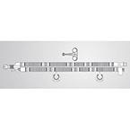 Ventilator Circuit, Dual-Limb, Adult, 2-6 ft Flex Tubes, Ported Parallel Y, Elbow, Temp Port, Hanger
