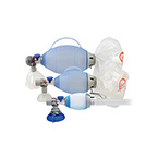 Manual Resuscitator BVM, Silicone, Oval, Pediatric