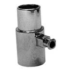 Sampling T Adapter, 15mm male x 15mm female x Luer lock