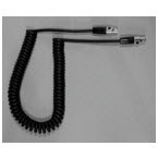 Cable, Retractile, Extended Length, 6 ft
