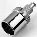 Adapter, Tracheostomy, Chrome Plated Brass, 15mm