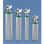 Laryngoscope Handle, Green System, Fiber Optic, Standard, Uses 2C Batteries