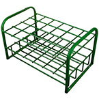 Cylinder Rack, M7, M9, C, D, E Cylinders, 24 Cylinder Capacity, 19.5in H x 20in D x 32in W, 33 lbs, Green