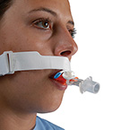 "Tube Holder, Endotracheal, StabilTube, Pre-Cut, Hypoallergenic, Velcro Neck Band, White<span style=""color:#FF0000;font-weight:bold;padding-left:5px;"">*Non-Returnable*</span>"