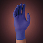 Exam Glove, Nitrile, Sterile Pairs, Ambidextrous, Disposable, Powder-Free, Purple, Small, 9.5 in