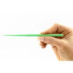 Ear Curette, Safe Ear Curette, MicroLoop, Youth, Green, 3 mm