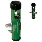 Oxygen Regulator, Deluxe, MRI Compatible, E-Cylinder