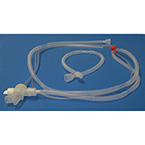 "Breathing Circuit, Infant, Hose: 3/8"" ID x 48"", Adapter: 22 mm ID, Holding Arm, Test Cap"