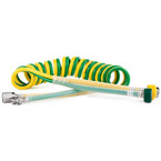 Dual Coiled Hose with Ohmeda Quick Connect Fitting, 15ft