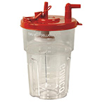Container, Suction, Disposable, 1100 ml, for Gomco, 12/cs