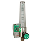 Flowmeter, Soft-Touch Timeter, Oxygen, 15 LPM, Chemetron Male Fitting