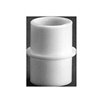 Adapter, for Corrugated Tubing, 22mm OD x 22mm OD