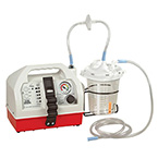 Suction Unit, OptiVac, AC/DC Portable, Flow Rate >30 LPM, 9.4 x 7.5 x 16.8 in, 11.4 lbs