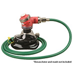 Oxygen Hose, 6ft, Green, DISS Fitting, for AutoVent 4000