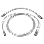 Suction Tubing Kit, PVC, (1 each 72inch and 15inch blue-tipped PVC tubing, 1/4inch ID)