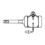 Pressure Infuser, 500 ml, C-Fusor, Squeeze Bulb, Pressure Gauge