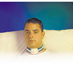 Tracheostomy Strap, Portex, Child to Adult, 1-1/2 in Wide, Extra Cushioned, Max 24 in Neck